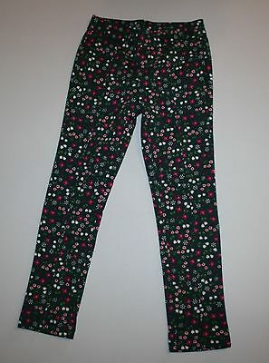 New Gymboree Girls Hunter Green with Floral Ponte Pants 6 Year NWT Plum Pony