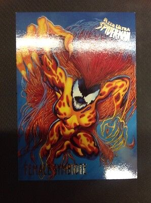 1995 Fleer Ultra Spider-Man Female Symbiote 22