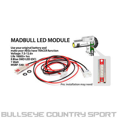 Madbull Led Tracer Module For 3 In 1 Hop Unit Wire Set Tracer BB's 6mm Airsoft