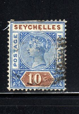 Item No. B9999 – Seychelles - Scott # 7a – Used