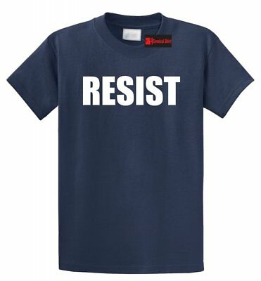 Resist T Shirt Anti Donald Trump Protest Tee Political Rally Resist Trump Tee