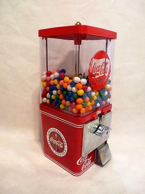 vintage gumball / candy machine 25 cent  Coca cola
