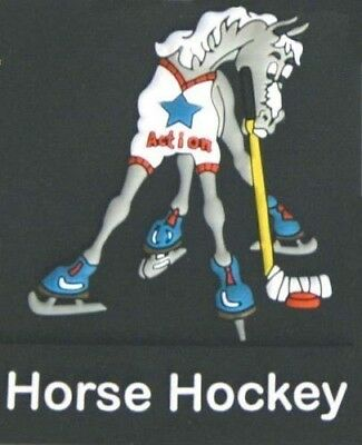 Action Brand Funny Horse Ice Hockey Refrigerator Magnet - Great Horse Lover Gift