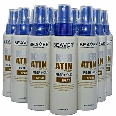 Hold Spray Hair Building Fibers Beaver Lock Keratin Spray Men Women B-H-S-120ml
