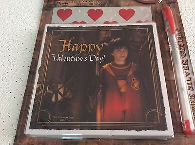 Harry Potter Valentine's Day Cards With Seals, Pen And Magnet