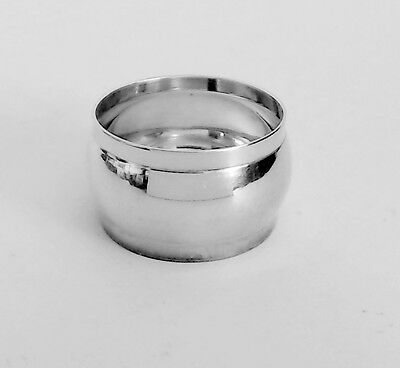 Round Silver Napkin Ring Made in India Excellent