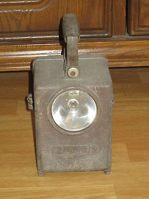 Ancienne Lampe Wonder Type ( Cheminot / Sncf ) Agral S.g.d.g