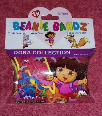 Ty Beanie Bandz - 12 Pack - Dora Collection - Brand New