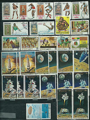 Guinea - 30 stamps - Years 1969....included  Airpost