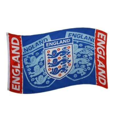 England F.A. Giant National Flag Blue 5ft x 3ft Official Merchandise