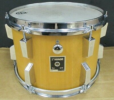 Sonor Phonic 8 x 12 inch tom in 'Natural Beech' finish