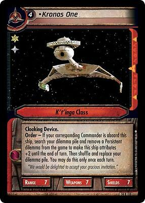 Star Trek CCG What You Leave Behind RARE 14R68 Crell Moset Exobiologist