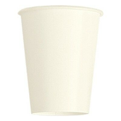9oz Ivory Paper Cups, Pack Of 14