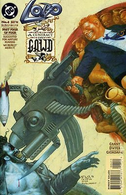 Lobo A Contract on Gawd (1994) #4 FN