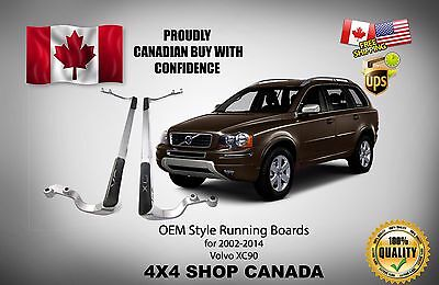 OE STYLE RUNNING BOARDS For 2002-2014 VOLVO XC90 SIDE STEP BARS NERF BAR