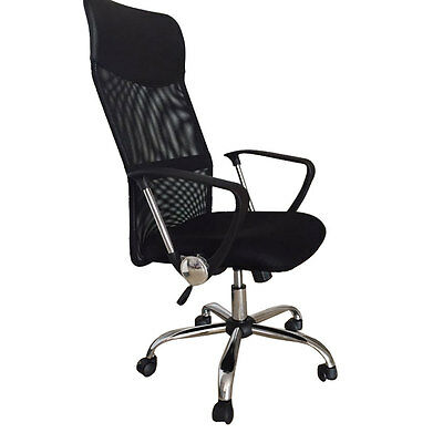 High Back PU Leather Executive Office Desk Race Car Seat Racing Gaming Chair