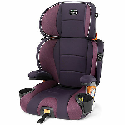 Chicco KidFit Belt Positioning High Back Booster Car Seat 4865 Purple Aurora