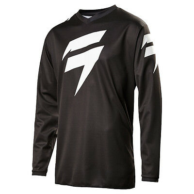 2017 Shift MX Mens WHIT3 Ninety-Seven Jersey - Black Motocross Offroad Trail End