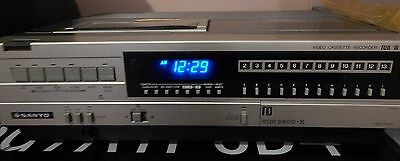 Sanyo Betacord VCR Model 3900 Beta TESTED WORKING GOOD CONDITION *SEE VIDEO*