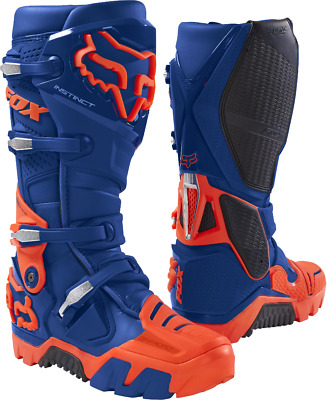 Fox 2018 Fox Instinct Off Road Boot Blue