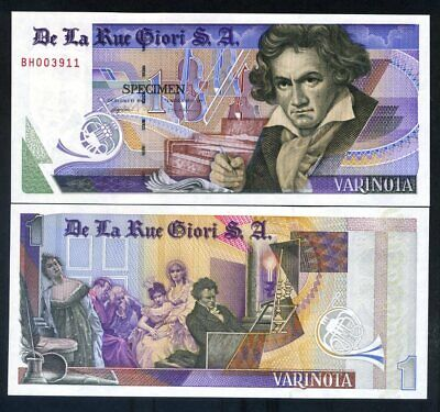 TEST NOTE THOMAS DE LA RUE GIORI UNC Perfect TDLR Varinota Beethoven com