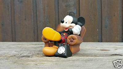 Extremely Rare! Walt Disney Mickey Mouse in his Chair Demons & Merveilles Statue