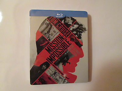 Mission Impossible: The Ultimate Collection (Blu-ray STEELBOOK) All 5 Movies OOP