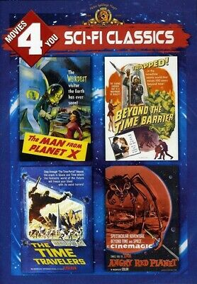 Man From Planet X/Beyond The Time Barrier/Time Tra (2013, DVD NEW)