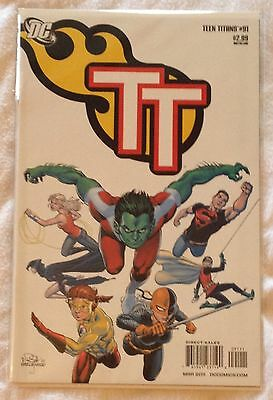 DC Teen Titans #91 (NM) direct sales edn March 2011
