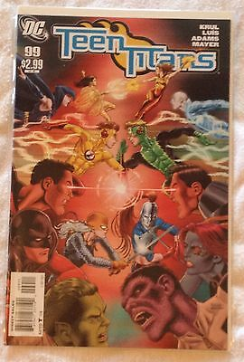 DC Teen Titans #99 (NM) direct sales edn Early Oct 2011
