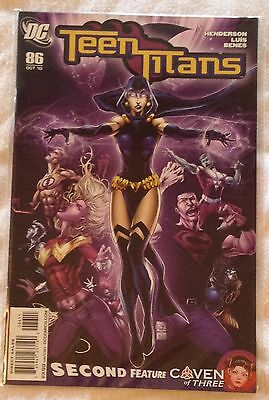 DC Teen Titans #86 (NM) direct sales edn Oct 2010