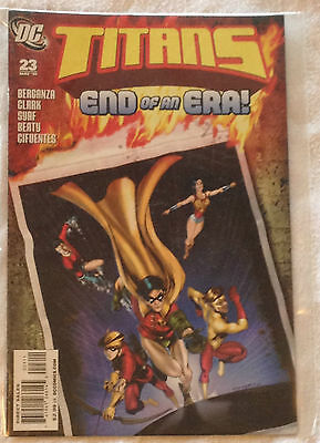 DC Titans #23 (NM) vol. 2, May 2010 Berganza/Clark