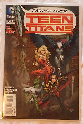 DC Teen Titans #3 (NM) vol. 5, Dec 2014 Pfeifer / Rocafort