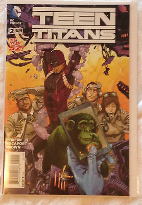 DC Teen Titans #2 (NM) vol. 5, Oct 2014 Pfeifer / Rocafort