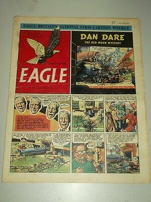Eagle #4 Vol 3 2 May 1952 British Weekly Dan Dare Space Man