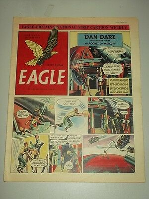 Eagle #43 Vol 3 30 January 1953 British Weekly Dan Dare Space Man