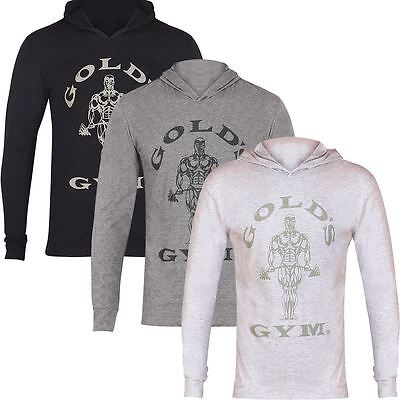 Gold's Gym 2017 Long Sleeve Hooded Top Mens Training Sports Hoodie