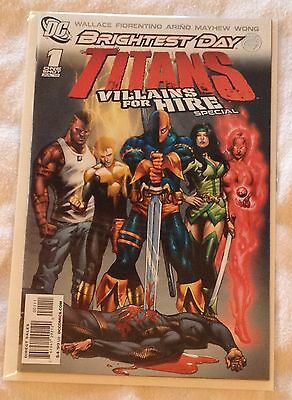 DC Titans Villains for Hire Special #1 July 2010 (NM) Brightest Day One Shot