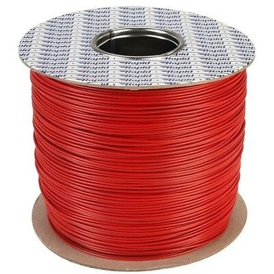 Rapid GW012294 500m Reel Red 16/0.2mm Wire