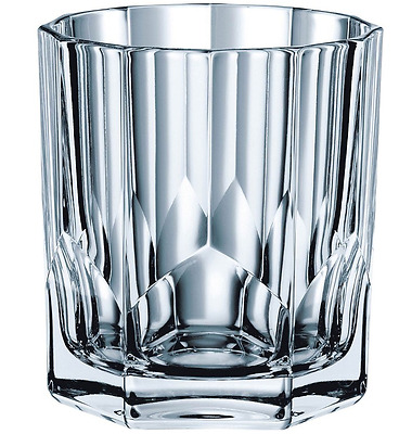 New Nachtmann Aspen Whiskey Tumbler Set Of 4 Lead Free Crystal Glass Glassware