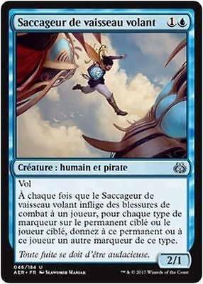 MTG Magic AER - (x4) Skyship Plunderer/Saccageur de vaisseau volant, French/VF