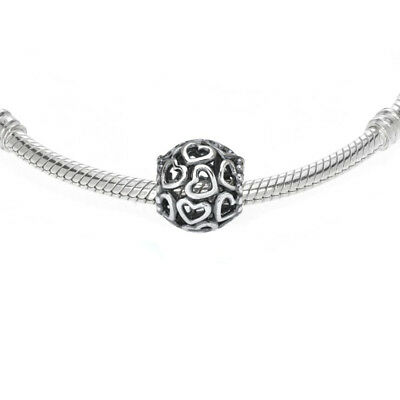 Authentic Pandora Charm Sterling Silver 790964 OPEN YOUR HEART