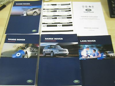 Range Rover L322  Handbook  Owners Manual 2005-2009 Navigation ,audio ,ref Os3