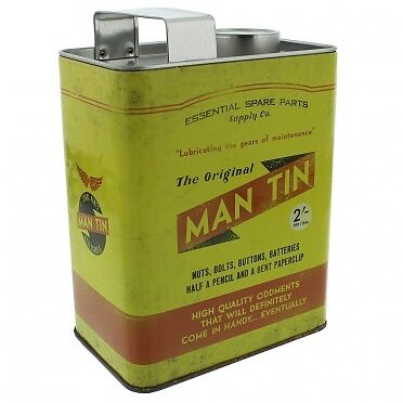 The Original Man - Oil Can Money Tin - Mechanic Gift Idea - Fathers Day Gift