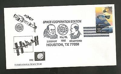 Apollo Soyuz Space Cooperation Station May 29,1992 Hou