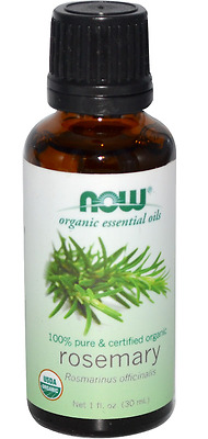 New Now Foods Organic Essential Oils Aromatherapy Purifying Pure Rosemary Daily