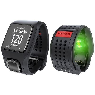 TomTom Runner Cardio GPS Watch & Graphical Training Partner - Black - 14318