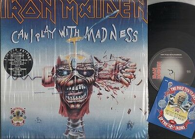"""IRON MAIDEN Can I Play With Madness  12"""" Double 12 Inch Pack In Gatefold Sleeve"""