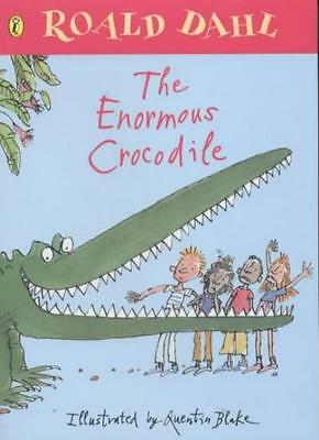 The Enormous Crocodile (Picture Puffins),Roald Dahl, Quentin Blake