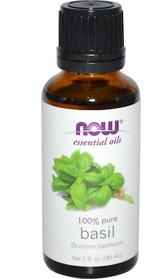 New Now Foods Organic Essential Oils Aromatherapy Purifying Pure Basil Daily
